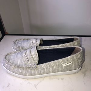 Cole Haan Grey Loafers
